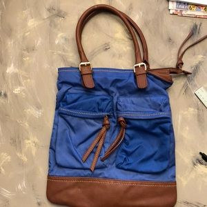 Lovely nylon tote bag